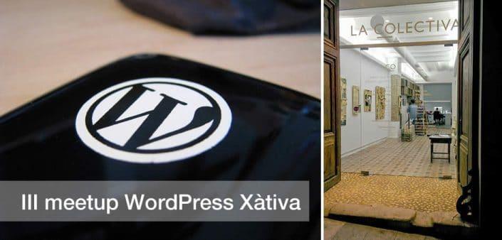 III meetup WordPress Xàtiva