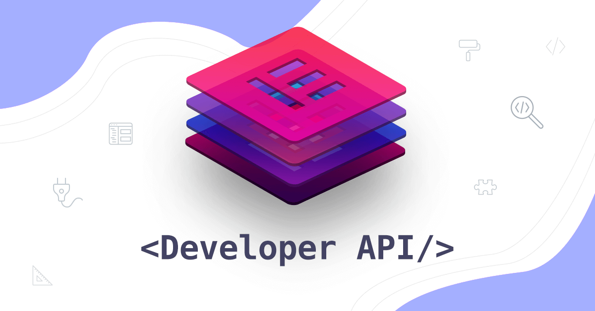 Elementor Developer API