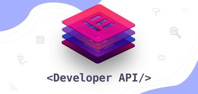 Elementor Developer API